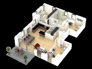 9544700003-Erdgeschoss Whg. A1